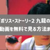 映画「ポリス・ストーリー2 九龍の眼」のフル動画を無料視聴する方法